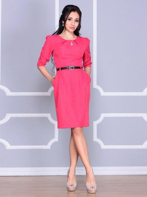 Платье красное Dioni 4065035