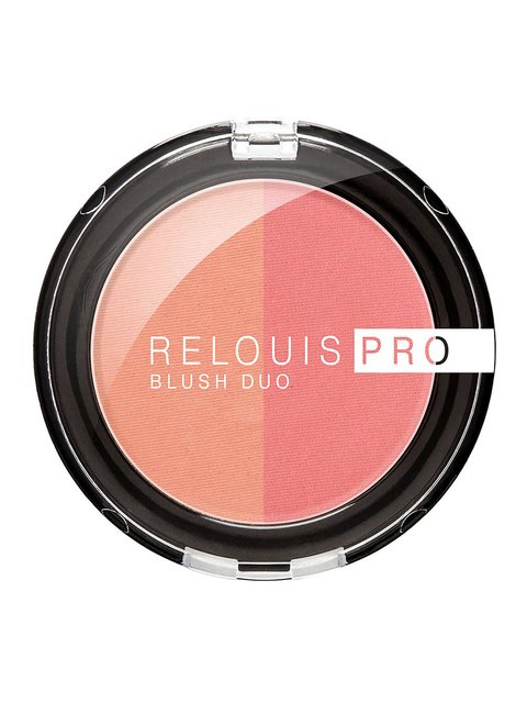 Рум'яна компактні Relouis Pro Blush — тон №201 RELOUIS 4067162