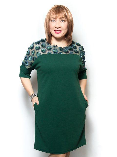 Платье зеленое LibeAmore 4071386