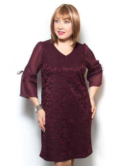 Сукня бордова LibeAmore 4071393