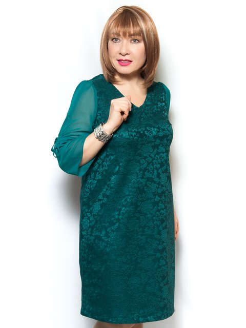 Платье зеленое LibeAmore 4071394