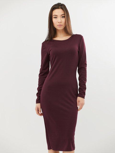 Платье черничного цвета CRISS 4071501