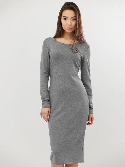 Платье светло-серое CRISS 4071502