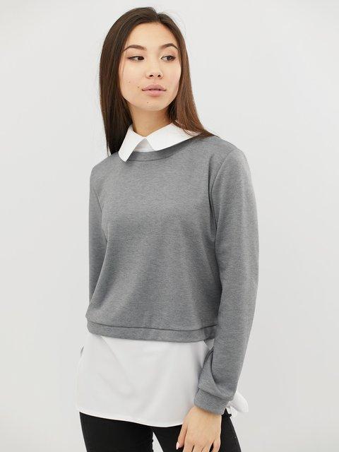 Джемпер светло-серый CRISS 4071537