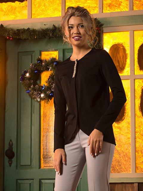 Блуза черная Lesya 3766727