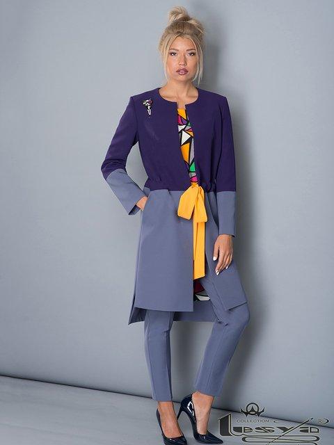Жакет сине-голубой Lesya 3766744