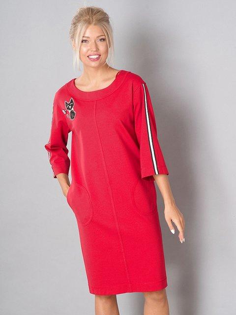 Сукня червона Lesya 3766785
