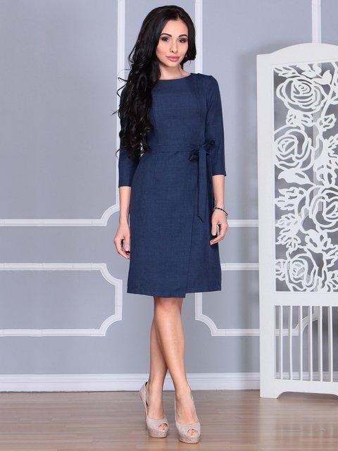 Сукня темно-синя Laura Bettini 4068452