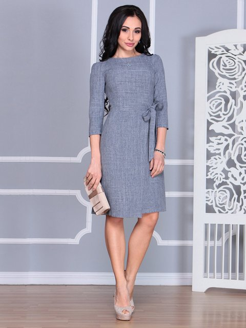 Платье дымчатого цвета Laura Bettini 4068457