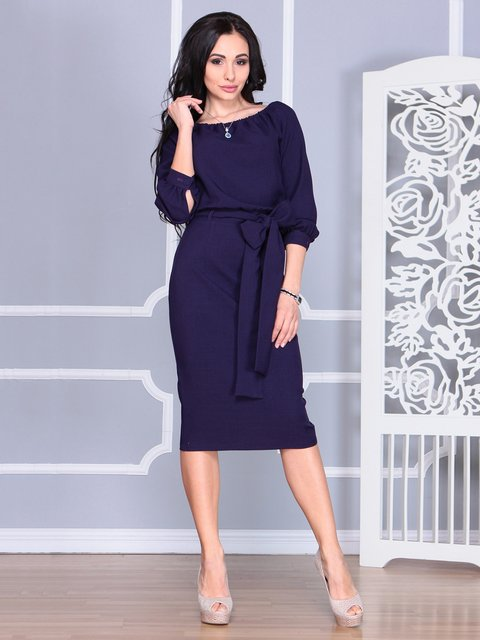 Сукня темно-фіолетова Rebecca Tatti 4068465