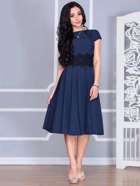 Сукня темно-синя Laura Bettini 4068474