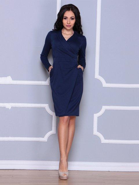 Сукня темно-синя Laura Bettini 4078605