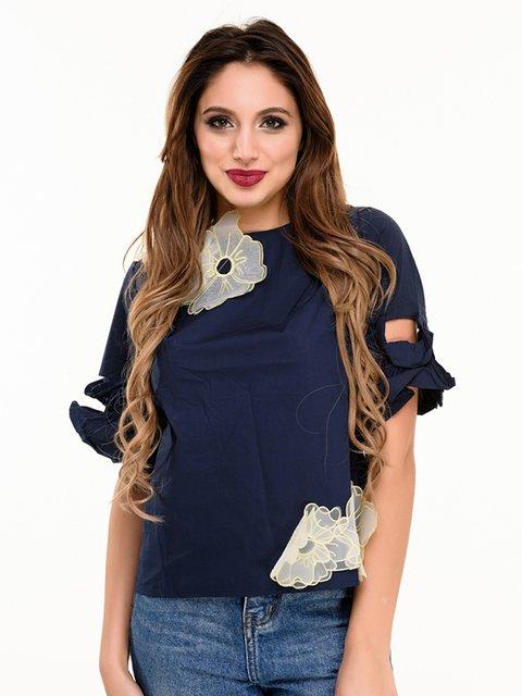 Блуза синяя Magnet 4080162