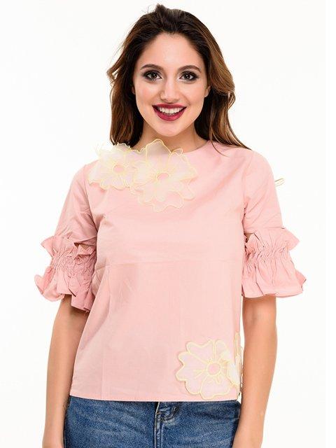 Блуза розовая Magnet 4080163