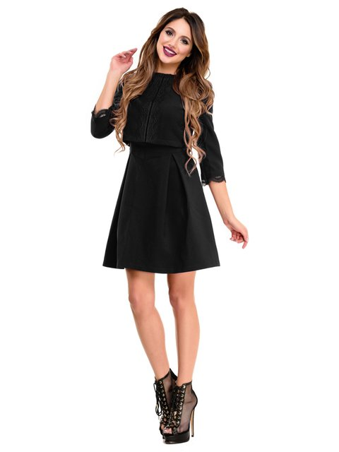 Сукня чорна Magnet 4080320