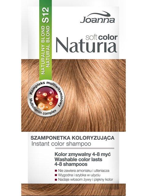 Шампунь оттеночный Naturia Soft - №12 «Натуральный блонд» Joanna 4088084