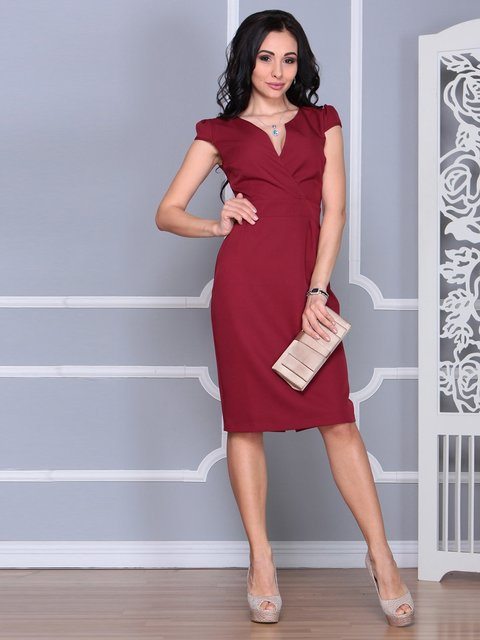 Сукня сливового кольору Rebecca Tatti 4078939