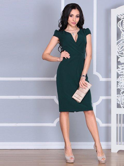 Сукня темно-смарагдового кольору Rebecca Tatti 4078941