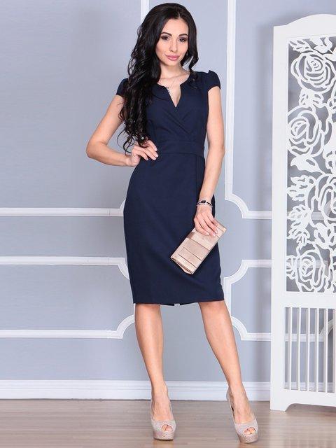 Платье темно-синее Rebecca Tatti 4078942