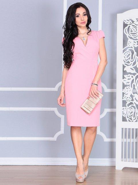 Платье персиковое Rebecca Tatti 4078943