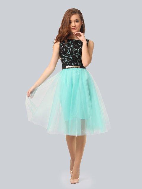 Платье мятного цвета AGATA WEBERS 4090677
