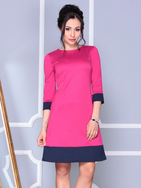 Платье цвета фуксии Laura Bettini 4092874