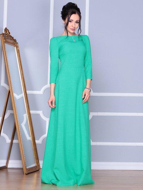 Платье зеленое Maurini 4092886