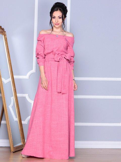 Платье розовое Rebecca Tatti 4092891