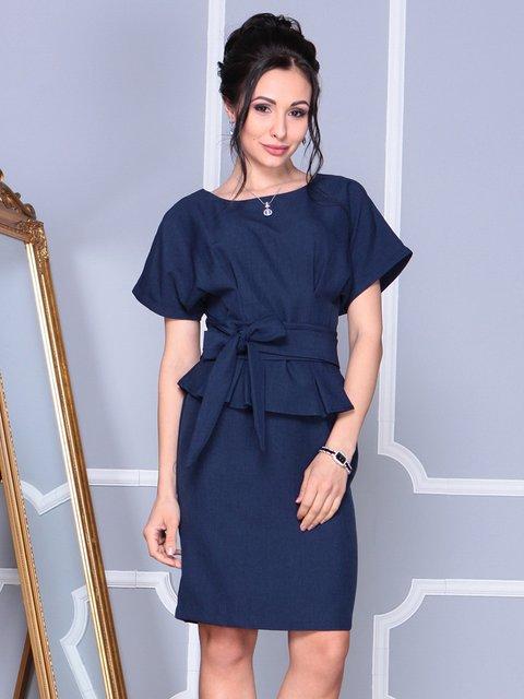 Сукня темно-синя Rebecca Tatti 4092896