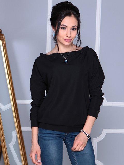 Джемпер чорний Laura Bettini 4109543