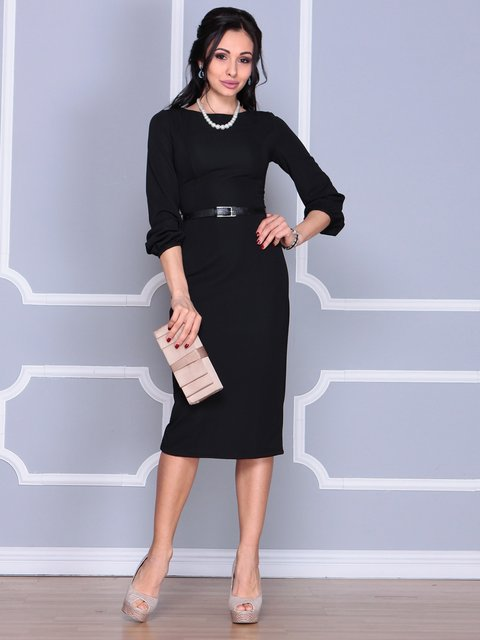 Сукня чорна Laura Bettini 4109547