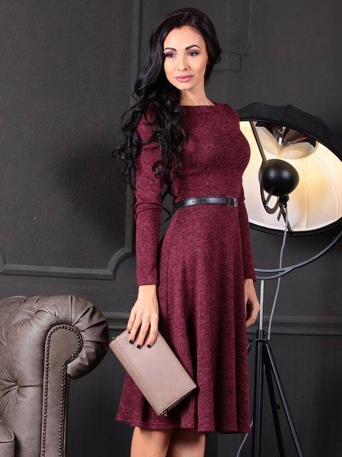 Платье бордовое Laura Bettini 4109551