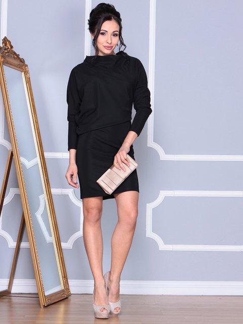 Платье черное Rebecca Tatti 4109560