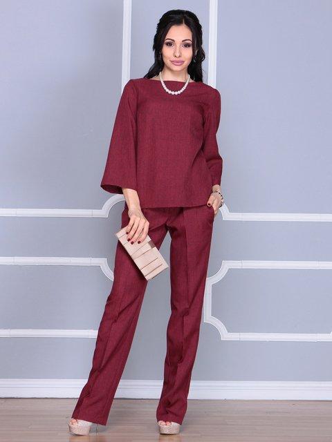 Костюм: блуза и брюки Rebecca Tatti 4109564