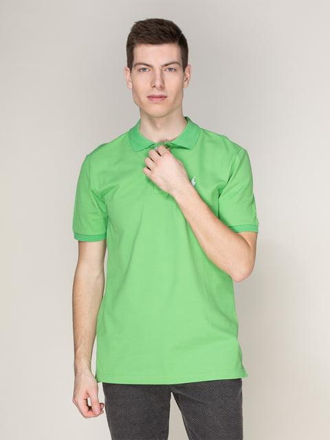 Футболка-поло зелена Polo Ralph Lauren 4082680