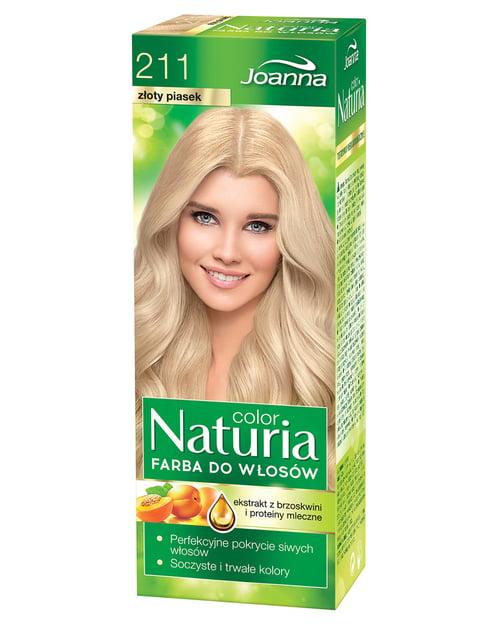 Краска для волос Naturia Color № 211 «Золотой песок» (60 г/40 г) Joanna 1076571
