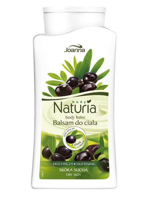 Бальзам для тіла Naturia з оливковою олією (500 мл) Joanna 4088096