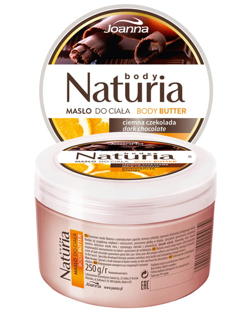 Масло для тіла Naturia «Шоколад з апельсином» (250 г) Joanna 4088111