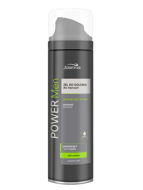 Гель для гоління Power Men для чутливої шкіри (200 мл) Joanna 4088139