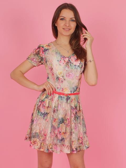 Платье в цветочный принт VSV 3963718