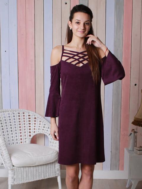 Платье цвета марсала VSV 4031600