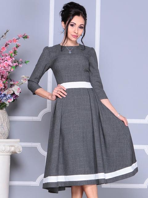 Платье цвета графит Dioni 4119085