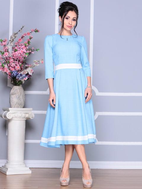 Платье голубое Dioni 4119086
