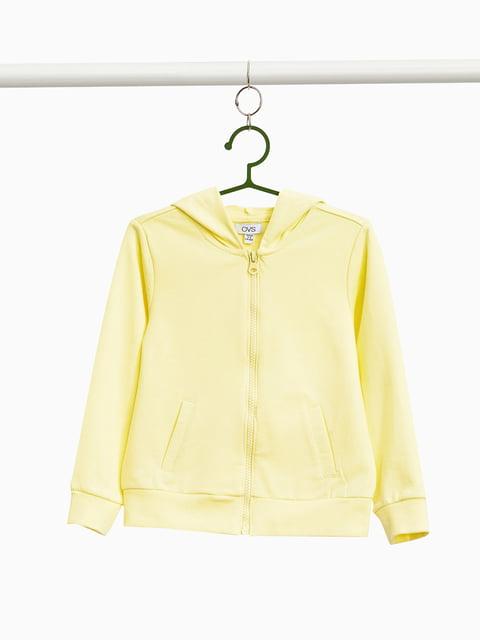 Толстовка жовта Oviesse 4057494