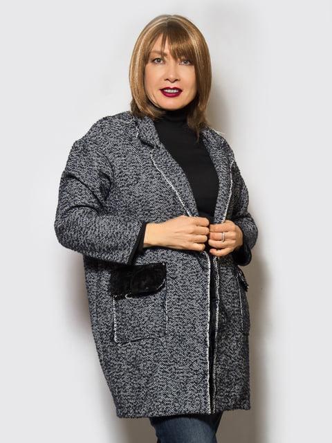Пальто темно-синє LibeAmore 4120204