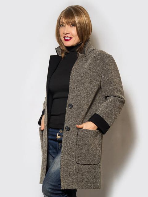 Пальто коричневе LibeAmore 4120205