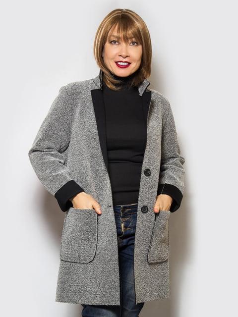 Пальто сіре LibeAmore 4120206