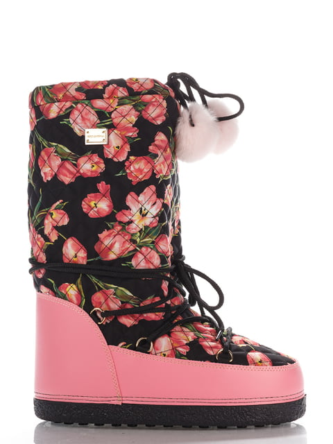 Чоботи рожеві Dolce&Gabbana 4103950