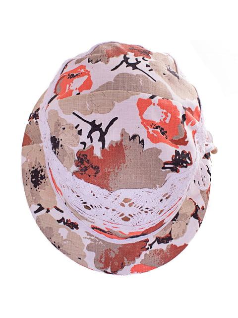 Шляпа в цветочный принт KENT & AVER 4125485