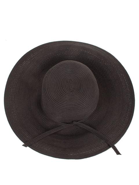Шляпа черная Del Mare 4125493